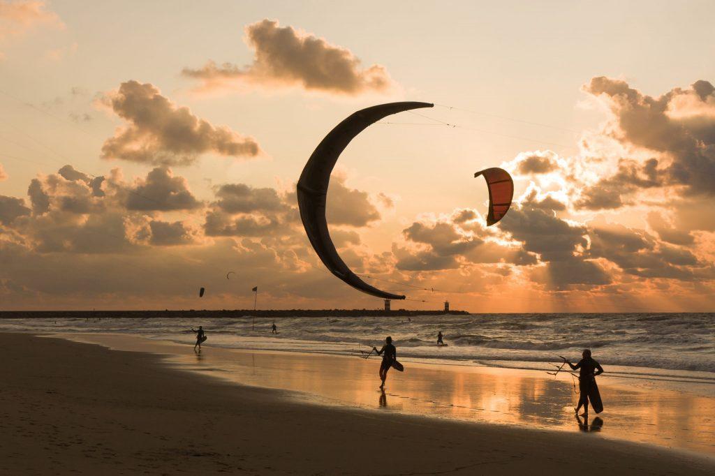 Kite- en strandmetingen